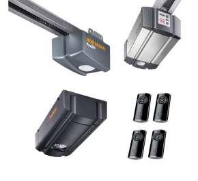 Автоматика и приводы для гаражных секционных ворот