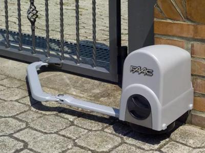 Рычажная автоматика для распашных ворот