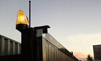 сигнальная лампа для ворот